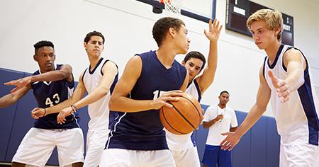 Boys Basketball at Next Level